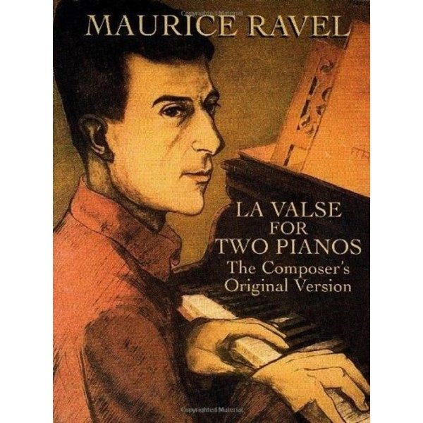 Dover Publications Ravel - La Valse for Two Pianos