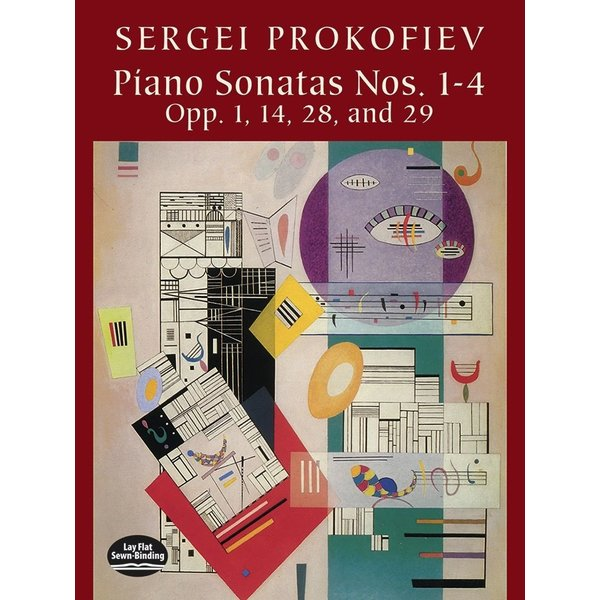 Dover Publications Piano Sonatas Nos. 1-4, Opp. 1, 14, 28, 29
