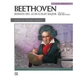 Alfred Music Sonata No. 26 in E-flat Major, Op. 81a