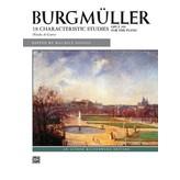 Alfred Music Burgmüller - 18 Characteristic Studies, Op. 109