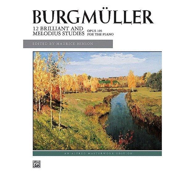 Alfred Music Burgmüller - 12 Brilliant Studies, Op. 105
