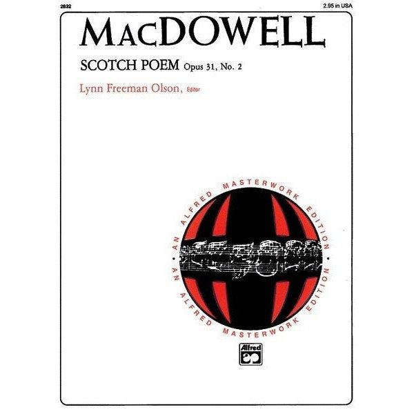 Alfred Music Scotch Poem, Op. 31, No. 2