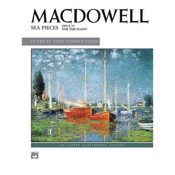 Alfred Music Sea Pieces, Op. 55