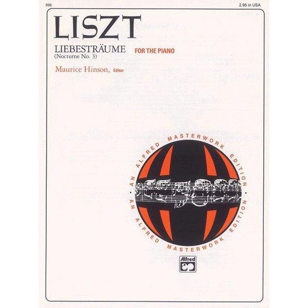 Alfred Music Liszt - Liebesträume