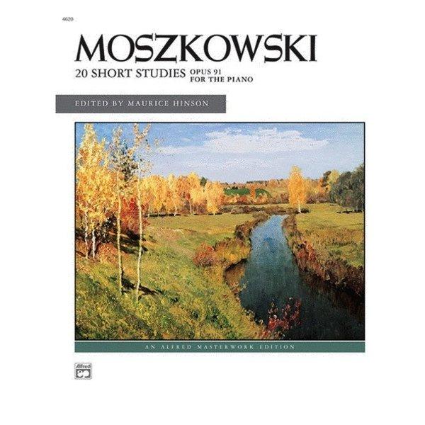 Alfred Music 20 Short Studies, Op. 91