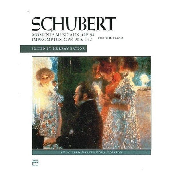 Alfred Music Schubert - Impromptus, Opp. 90, 142, & Moments musicaux, Op. 94