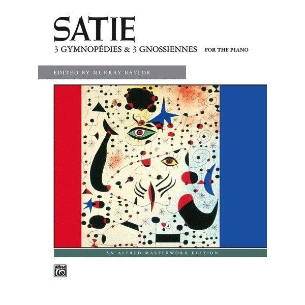Alfred Music 3 Gymnopédies & 3 Gnossiennes