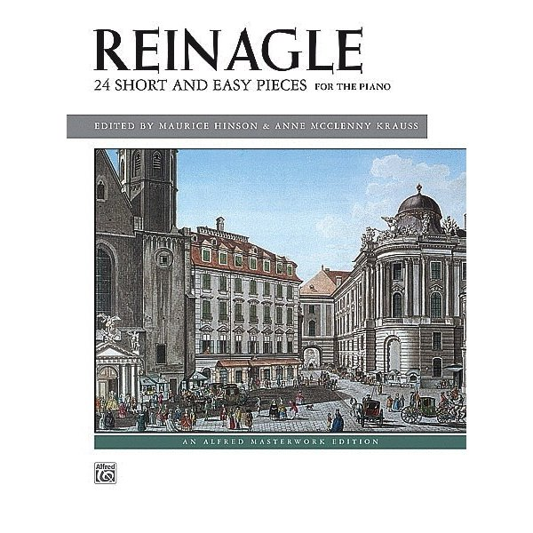 Alfred Music Reinagle - 24 Short & Easy Pieces, Op. 2