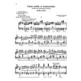 Alfred Music Valses nobles et sentimentales