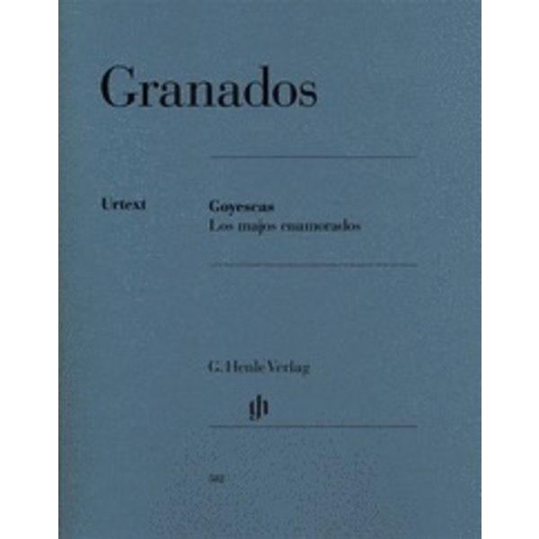 Henle Urtext Editions Granados - Goyescas - Los Majos Enamorados