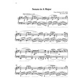 Alfred Music Sonata in A Major, Op. 120