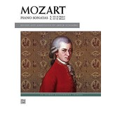 Alfred Music Piano Sonatas, K. 331 & K. 457