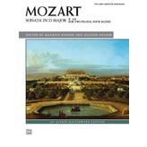 Alfred Music Mozart - Sonata in D Major, K. 448