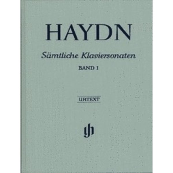 Henle Urtext Editions Haydn - Complete Piano Sonatas - Volume I Hardcover