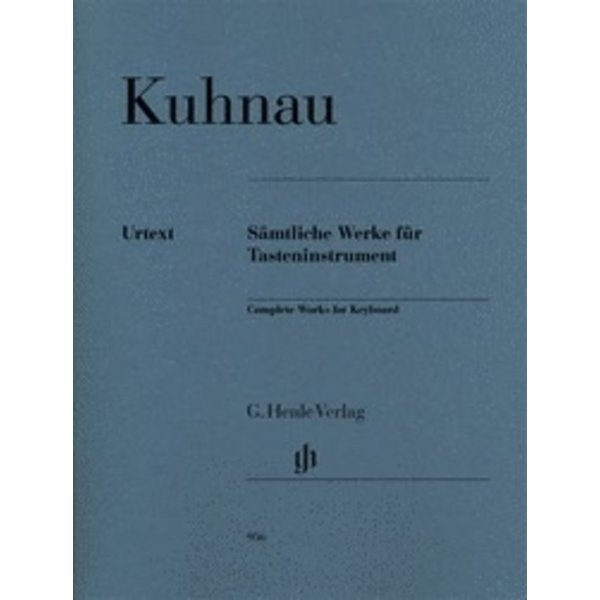 Henle Urtext Editions Kuhnau: Complete Works for Keyboard