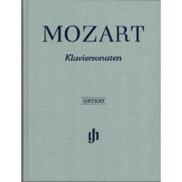 Henle Urtext Editions Mozart - Complete Piano Sonatas in One Volume