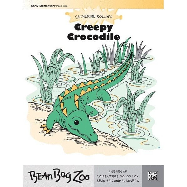 Alfred Music Creepy Crocodile