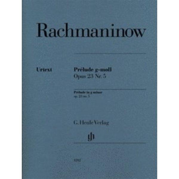 Henle Urtext Editions Rachmaninoff - Prélude in G minor Op. 23 No. 5