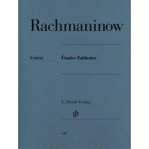 Henle Urtext Editions Rachmaninoff - Études-Tableaux