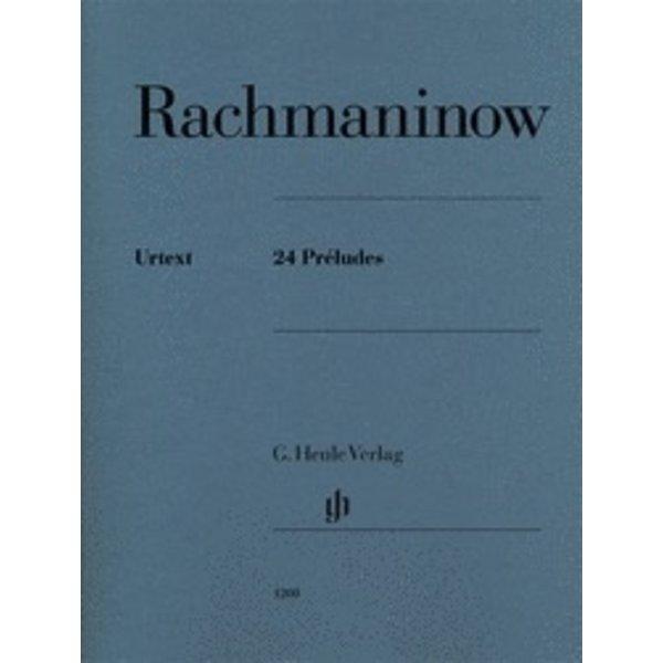 Henle Urtext Editions Rachmaninow - 24 Préludes