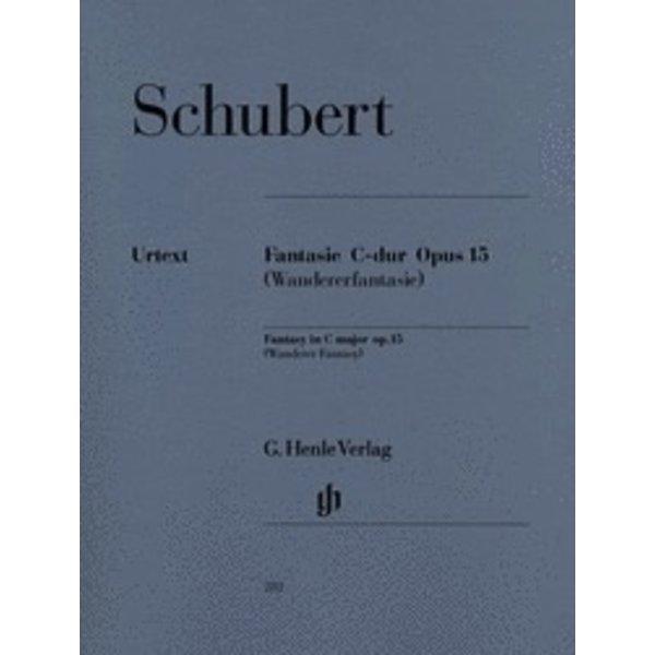 Henle Urtext Editions Schubert - Fantasy C Major Op. 15 D 760