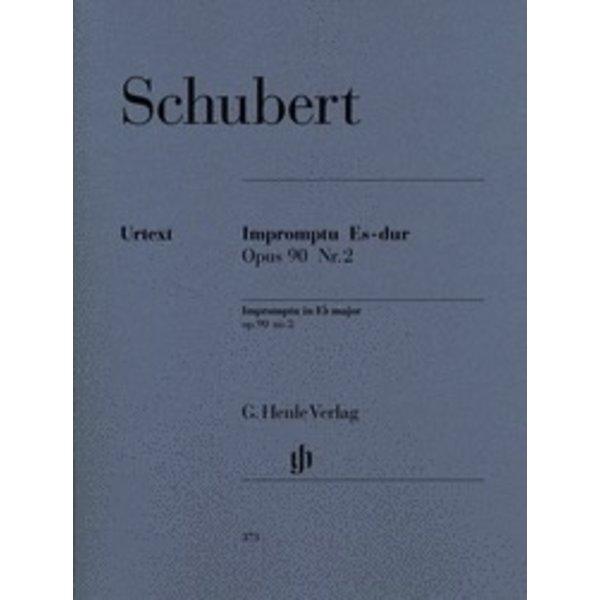 Henle Urtext Editions Schubert - Impromptu E Flat Major Op. 90 D 899