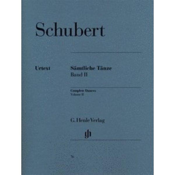 Henle Urtext Editions Schubert - Complete Dances - Volume II