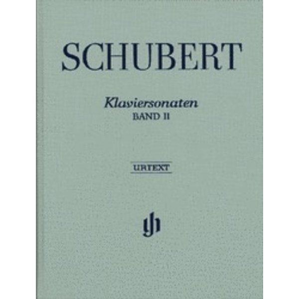 Henle Urtext Editions Schubert - Piano Sonatas - Volume II Hardcover