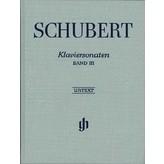 Henle Urtext Editions Schubert - Piano Sonatas - Volume III (Early and Unfinished Sonatas) Hardcover