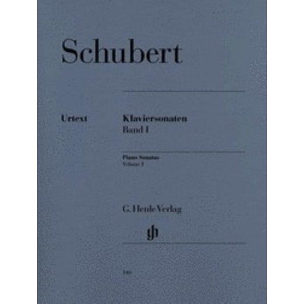 Henle Urtext Editions Schubert - Piano Sonatas - Volume I