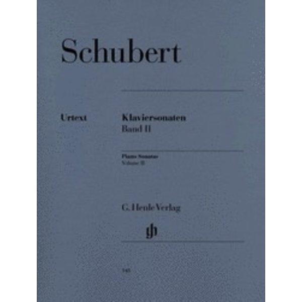 Henle Urtext Editions Schubert - Piano Sonatas - Volume II