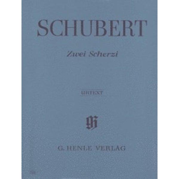 Henle Urtext Editions Schubert - 2 Scherzi B Flat Major and D Flat Major D 593