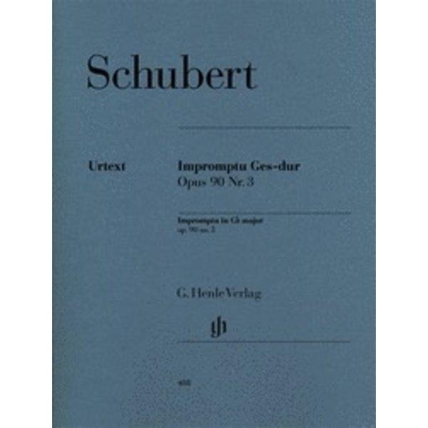 Henle Urtext Editions Schubert - Impromptu G Flat Major Op. 90 D 899
