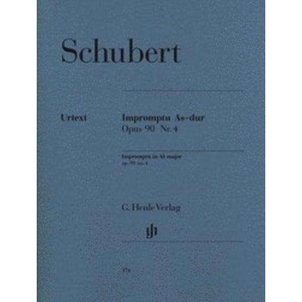 Henle Urtext Editions Schubert - Impromptu A Flat Major Op. 90 D 899