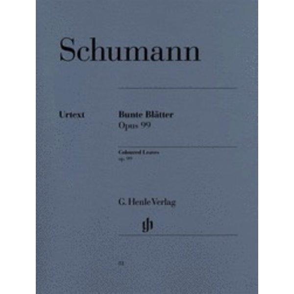 Henle Urtext Editions Schumann - Coloured Leaves (Bunte Blätter) Op. 99