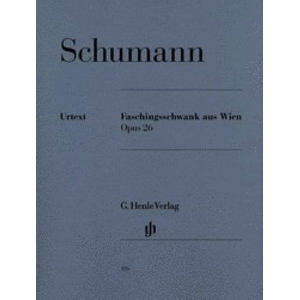 Henle Urtext Editions Schumann - Carnival of Vienna Op. 26