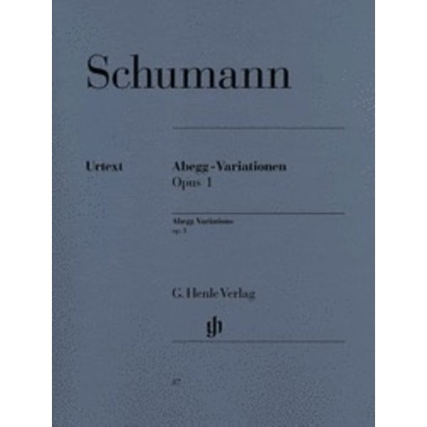 Henle Urtext Editions Schumann - Abegg Variations F Major Op. 1