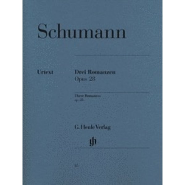 Henle Urtext Editions Schumann - 3 Romances Op. 28