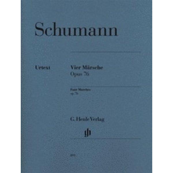 Henle Urtext Editions Schumann - 4 Marches, Op. 76