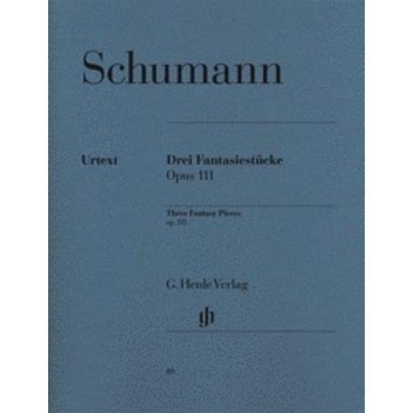 Henle Urtext Editions Schumann - 3 Fantasy Pieces Op. 111