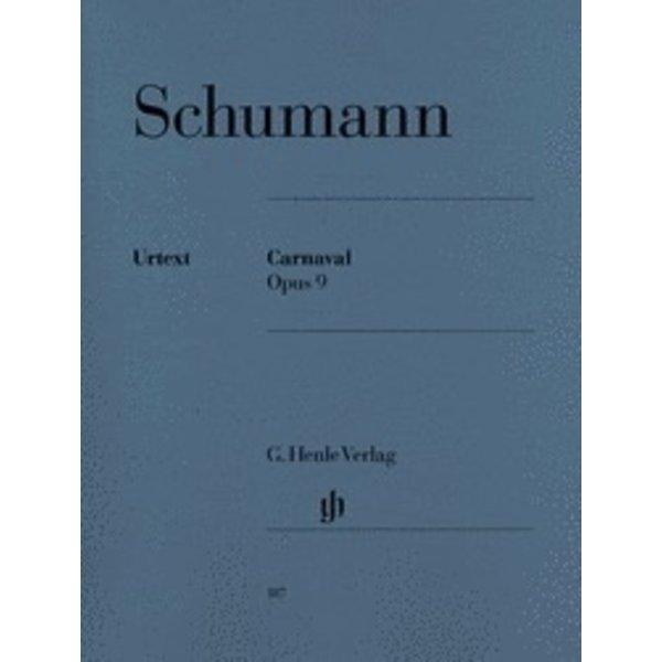 Henle Urtext Editions Schumann - Carnaval Op. 9