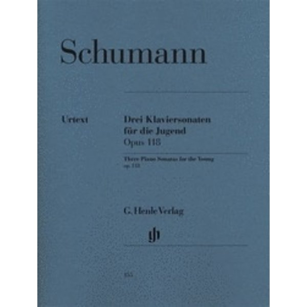 Henle Urtext Editions Schumann - 3 Piano Sonatas for the Young, Op. 118