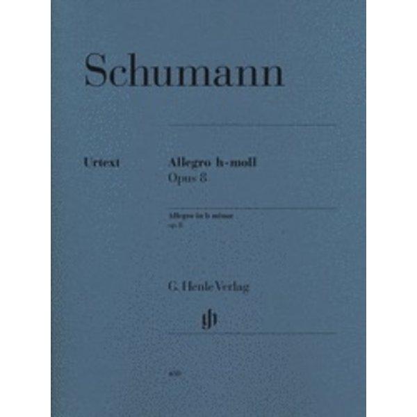 Henle Urtext Editions Schumann - Allegro in B minor Op. 8