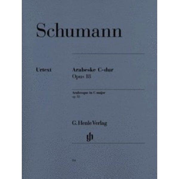 Henle Urtext Editions Schumann - Arabesque C Major Op. 18