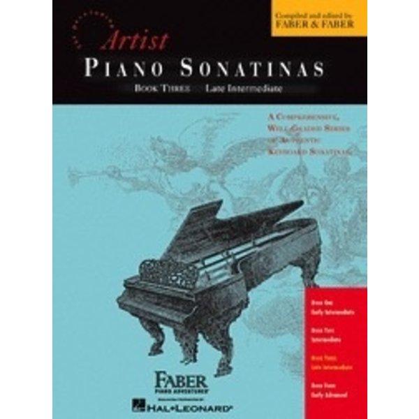 Faber Piano Adventures Piano Sonatinas - Book Three