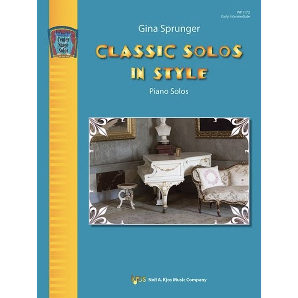 Kjos Classic Solos in Style