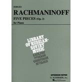 Schirmer 5 Pieces, Op. 3 (VAAP Edition)