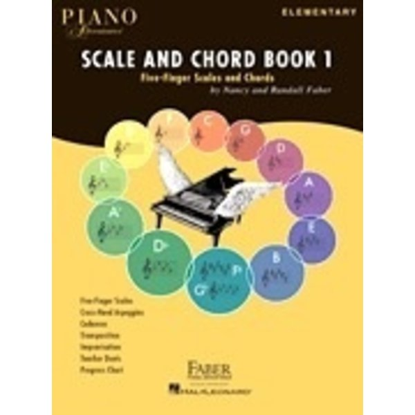Faber Music Piano Adventures Scale and Chord Book 1