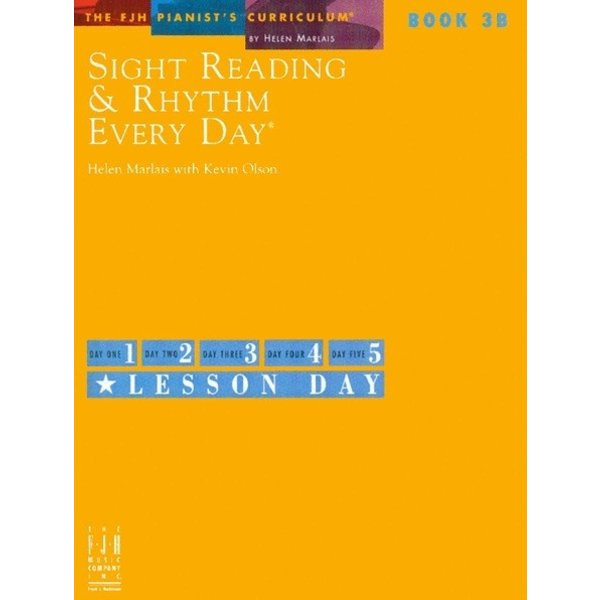 FJH Sight Reading & Rhythm Every Day, Book 3B