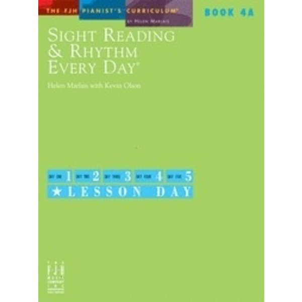 FJH Sight Reading & Rhythm Every Day, Book 4A
